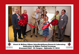 Grant and Melissa Gibson Interdiscipinlary Research Lab