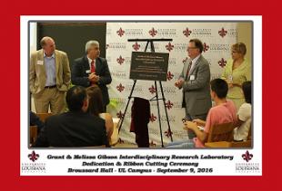 Grant & Melissa Gibson Interdisciplinary Research Lab